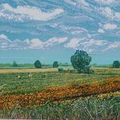 Louise Stebbing Flower Pickers, 2016 £360.00 H 40 cm x W 50 cm x D 0.1 cm