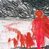 Daniel Richter, Army of Traitors, 2011 Privatsammlung, © Bildrecht, Wien, 2017 Öl auf Leinwand 200 × 300 cm