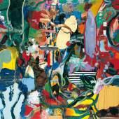 Daniel Richter, Zwiesprache mit der Natur (beim Baden), 1996 Privatsammlung, Courtesy Jennifer VORBACH LLC, © Bildrecht, Wien, 2017 Öl auf Leinwand 185 × 200 cm
