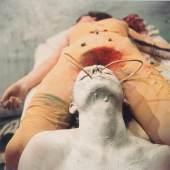 Günter Brus, Transfusion, 1965-1999 Sammlung Günter Brus, Foto: Ludwig Hoffenreich, © Günter Brus Farbfotografien