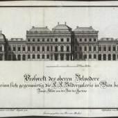 Christian Mechel, Verzeichniß der Gemälde der Kaiserlich Königlichen Bilder Gallerie in Wien, Wien 1783, Oberes Belvedere Privatbesitz Foto: © Markus Tretter Fotografie