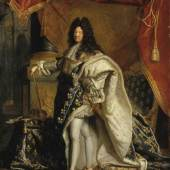 Hyacinthe Rigaud, Ludwig XIV. um 1701-1712 Châteaux de Versailles et de Trianon, Versailles © bpk | RMN - Grand Palais | Gérard Blot Öl auf Leinwand 131 x 97,3 cm