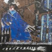 Lindau, Uwe Ohne Titel, 1984 Acryl auf Leinwand. 150,0 x 129,5 cm., Schätzpreis:3.000 - 3.300 EUR