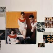 Lucy McKenzie Top of the Will (Detail), 1998-99 Fotografien, Tintenstrahl- drucke auf Papier, Buch und Magazinseiten Maße variable Privatsammlung, Wien © Lucy McKenzie. Courtesy the artist and Cabinet, London.