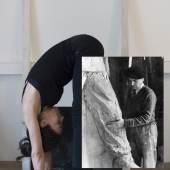 Luiza Margan Restaging Monument, 2014 (Monument-Neuinszenierung) Tintenstrahldruck auf mattiertem Kunstdruckpapier, aus einer Serie von 9 Fotomontagen Fotosammlung des Bundes am Museum der Moderne Salzburg © Luiza Margan