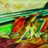 Lyonel Feininger, Lastträger am Meeresstrand (I) (Beachcombers by the Sea (I)), est. £700,000-900,000