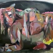 Simona Deflorier Lyonella  Öl auf Leinwand, 141 x 116 cm, 2020