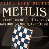 Plakat 75. Auktion Kunst & Anitquitäten