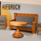 Made in Denmark, Aufbruch in die Moderne, Sitzgruppe, Johan Rohde (c) SKB, Foto Dieter Nagl