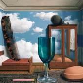 René Magritte Die persönlichen Werte/ Les Valeurs personnelles, 1952 Museum of Modern Art, San Francisco © Charly HERSCOVICI Brüssel - 2011 © VBK Wien, 2011