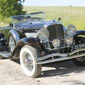 1931 Duesenberg Model J 'Disappearing Top' Convertible Coupe