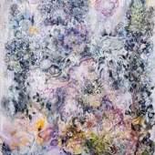 Karin Pliem, Misterioso con Lupino, 2014, Öl/Lw, 130 x 110 cm © Foto: Barbara Zeidler