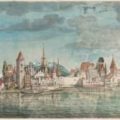 Albrecht Dürer Innsbruck von Norden, um 1496 Albertina, Wien