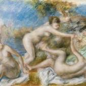Pierre-August Renoir Nude Bathers Playing with a Crab, c. 1897-1900 Sammlung Jean Bonna, Genf
