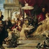 Hans Makart  Venedig huldigt Caterina Cornaro, 1872/73  Öl auf Leinwand  400 x 1060 cm  Belvedere, Wien  © Belvedere Wien