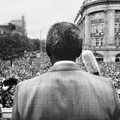 Maurice Boyer, Nelson Mandela during his welcome on Amsterdam's Leidseplein, 16 June 1990. Collection Rijksmuseum
