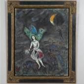 Marc Chagall, Lecuyère, 1976, Collection Pierre et Geneviève Hebey - cadre - © Artcurial