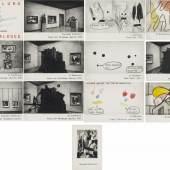 "Marcel van Eden (1965)  ""Oswald Sollmann, Haus am Waldsee"" | 1951 | 13-teilig Taxe: 4.000 – 6.000 Euro"
