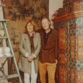 Margarete und Roderich Pachmann in ihrem Geschäfts in der Barerstrasse bei den Pinakotheken,  Foto: Pachmann Antiquitäten