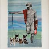© Margo Gabryszewska, Museum 100, Collage, 35 x 25,8 cm, 2021