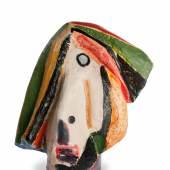 Markus Lüpertz Du weißt nicht viel, versetzte die Herzogin, 1981 Bronze, bemalt 93 x 70 x 65 cm Museum der Moderne Salzburg – Dauerleihgabe der Sammlung MAP © Bildrecht, Wien 2015