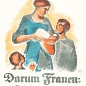 Martha Jäger, Eure Kinder,Wahlwerbeplakat, 1919  Foto: SHMH/MHG