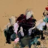 Martha Jungwirth   Ohne Titel (aus der Serie: Regentinnen des Altmännerwohnheims, Frans Hals, 1664), 2014   Albertina, Wien, Erwerbung aus Mitteln der Galerienförderung des BKA 2015 © Bildrecht, Wien, 2018