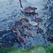 Martin-Jan van Santen, Mother 2015, Öl auf Leinwand, 80 x 100 cm