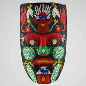 Maske, Huichol, Mexiko, Ethnologische Sammlung © Museum Natur und Mensch – Städtische Museen Freiburg, Foto: Axel Killian