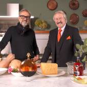 Massimo Bottura and Richard Paterson