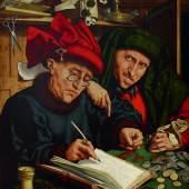 Quentin Massys der Ältere Die Steuereintreiber, späte 1520er Jahre Öl auf Holz © LIECHTENSTEIN. The Princely Collections, Vaduz–Vienna