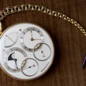Masterworks of Time, George Daniels Space Traveller I, lot sold, £3,615,000