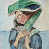 Henri Matisse, Margot, 1906 Huile sur toile, 81 x 65 cm Kunsthaus Zürich, 1925 © Succession Henri Matisse/ 2019 ProLitteris, Zurich