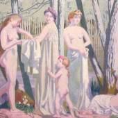 Maurice Denis, Die Badenden, 1907, Leinwand, 129,5 x 196 cm, Städel Museum Frankfurt am Main, Inv.Nr. SG 178