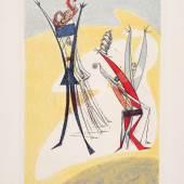 Max Ernst Rythmes, 1944 (Rhythmen) Farblithografie Museum der Moderne Salzburg – Schenkung der Galerie Kunst der Gegenwart (Grafische Werkstatt im Traklhaus, Salzburg) © Museum der Moderne Salzburg / Bildrecht, Wien, 2017, Foto: Rainer Iglar
