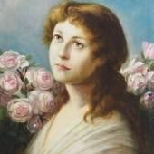 Max Gabriel Cornelius Ritter VON MAX, Attribut/Umkreis. 1840 Prag - 1915 München.  Mindestpreis:2.900 EUR