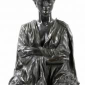 Max Klinger Bronzearbeit (um 1900/20) nach der von M. Klinger 1893 vollendeten HalbfigurAufrufpreis:450 EUR