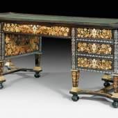 """BUREAU MAZARIN """"A TOUTES FACES"""",  Louis XIV, wohl von A. GAUDRON, Paris, um 1690/1700. CHF 200 000 / 300 000 Auktion 27. März 2014"""