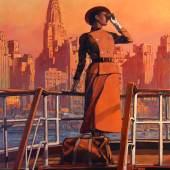 Aussteller: Galerie Champaka East River View, 2014 Miles Hyman (Bennington, 1962), illustrator