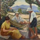 Aussteller: Galerie Fleury The net Henri Manguin (Paris 1874-1949 Saint Tropez)