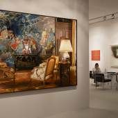 A work by Jan Worst at TEFAF 2013, in the stand of Sperone Westwater Photo: Harry Heuts