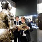 Antique arms and armour at Peter Finer - TEFAF 2013 Photo: Loraine Bodewes