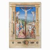 Meister von Ango, Großformatige Kreuzigungsszene, Rouen, 1520 | Auctionata