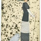 Mela Koehler, Postkarte der Wiener Werkstätte (Nr. 523), 1908 © MAK