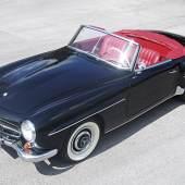 Lot Nr. 320 1963 Mercedes-Benz 190 SL erzielter Preis € 96.320