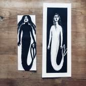 mermaids monotype bianca tschaikner