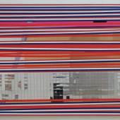 Isa Genzken: Soziale Fassade, 2002 Metall, Kunststoff, Metallfolie 70 x 100cm Ringier Sammlung, Zürich © Isa Genzken, VG Bild-Kunst, Bonn 2016. Foto: Galerie Buchholz Köln / Berlin /New York