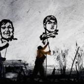 William Kentridge: More Sweetly Play the Dance, 2015. Video still © courtesy the artist, Marian Goodman Gallery (New York, Paris, London), Goodman Gallery (Johannesburg, Cape Town) and Lia Rumma Gallery (Naples, Milan)