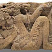 Monument 114 Spätklassik, 600–900 n. Chr., Toniná, Chiapas, Kalkstein © INAH. Museo Regional de Chiapas, Tuxtla Gutiérrez, Chiapas