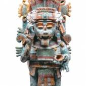 Weihrauchgefäß. Postklassik, 1250–1527 n. Chr., Mayapán, Yucatán © INAH. Museo Regional de Antropología. Palacio Cantón, Mérida, Yucatán
